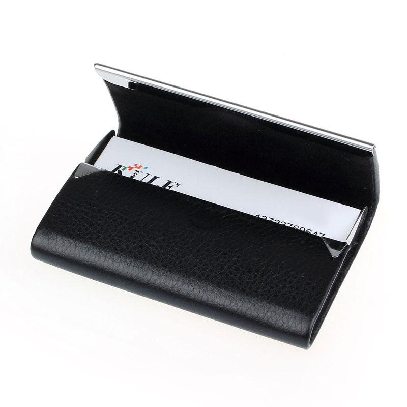 Wallets-PU Leather Credit Card Holder for any Vegan Lifestyle