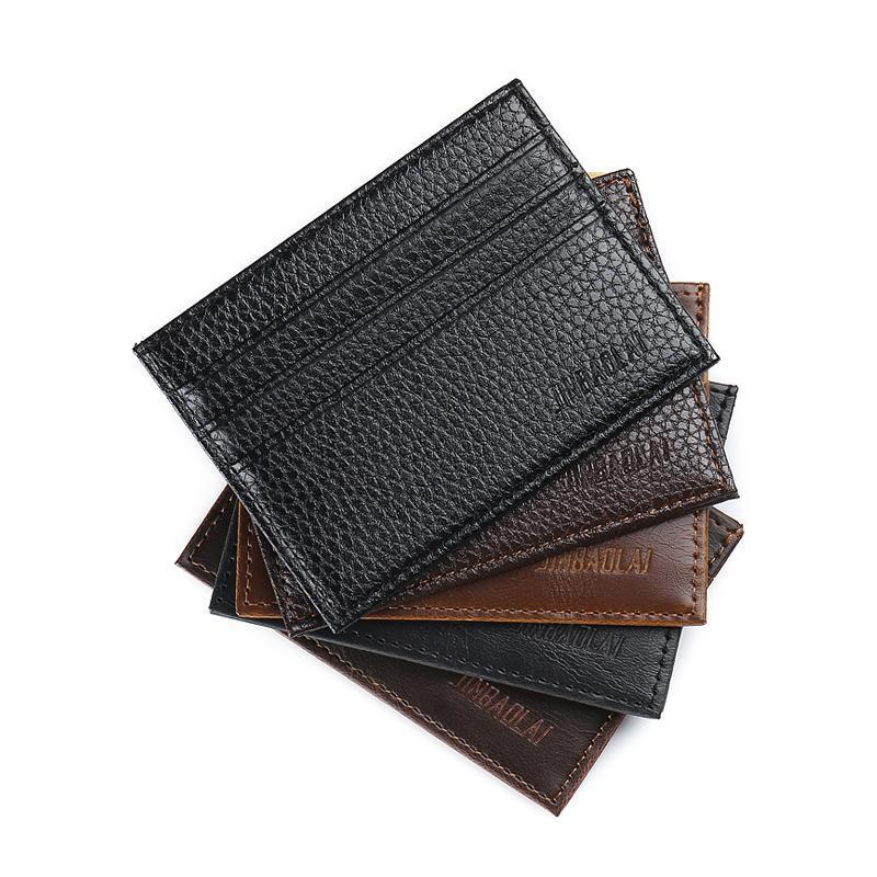 Wallets-PU Leather Slim Mini Credit Card Holder for any Vegan Lifestyle