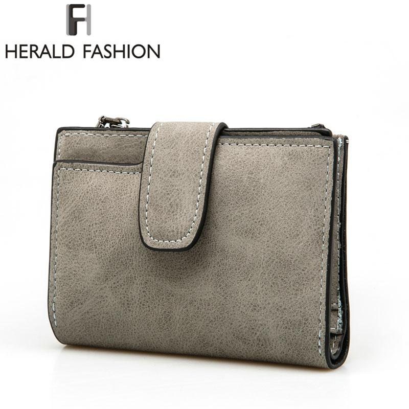 Wallets-PU Leather Wallet by Herald Fashion for a Woman's Vegan Lifestyle