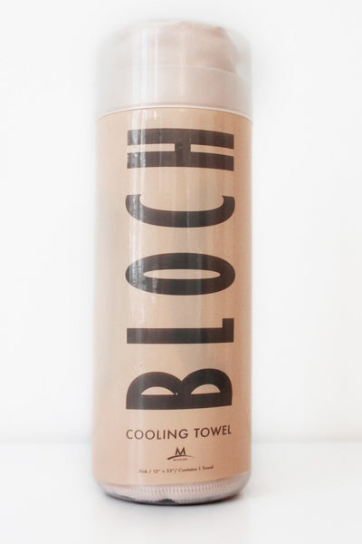 Cooling Towel PINK by Bloch - Shopdance.co.uk