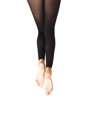 BLACK Footless Dance Tights Ultra Soft by Capezio Code: 1817 - Shopdance.co.uk