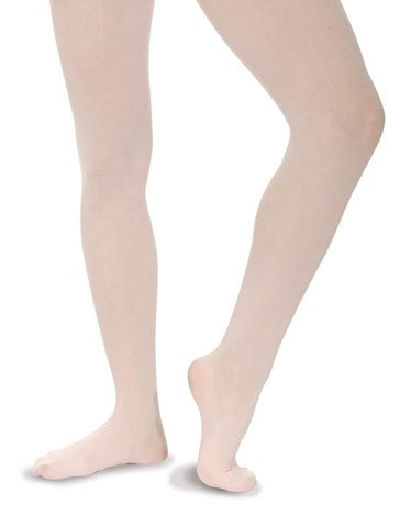 Roch Valley White Economy Ballet Dance Footed Tights - Shopdance.co.uk