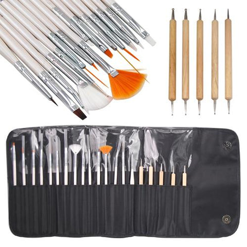 NAIL ART SET  (LAROC 20PC) Professional - Shopdance.co.uk