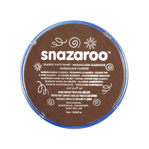 Snazaroo Brown Face Paint 18ml - Shopdance.co.uk