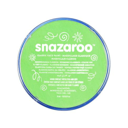 Snazaroo Lime Green Face Paint 18ml - Shopdance.co.uk