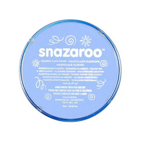 Snazaroo Sky Blue Face Paint 18ml - Shopdance.co.uk