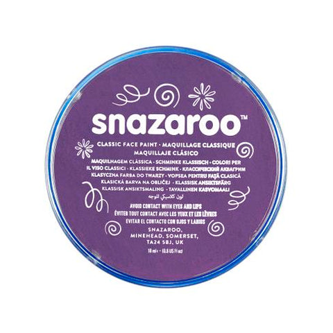Snazaroo Purple Face Paint 18ml - Shopdance.co.uk