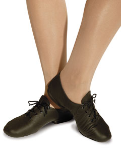 Childs Starlite Black Full Rubber Sole Jazz Shoe Small size 7 and 8 only. - Shopdance.co.uk