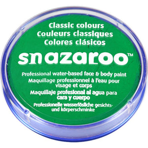 Snazaroo Bright Green Facepaint 18ml - Shopdance.co.uk