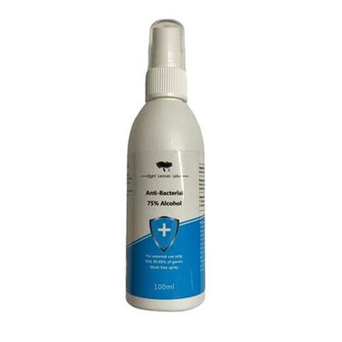 Hand Sanitiser Spray 75% Alcohol Anti Bacterial & Disinfectant 100ml - Shopdance.co.uk