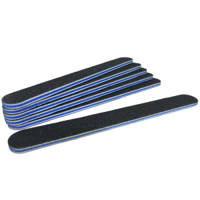 Black Foam Nail File (180/180 grit) pack of 6 by Star Nails - United Beauty - Shopdance.co.uk