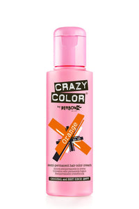 Crazy Colour Semi Permanent Hair Dye 100ml Orange - Shopdance.co.uk