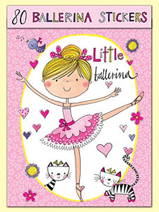 Ballerina Stickers x 80 by Rachel Ellen - Girls GIFTS - Shopdance.co.uk