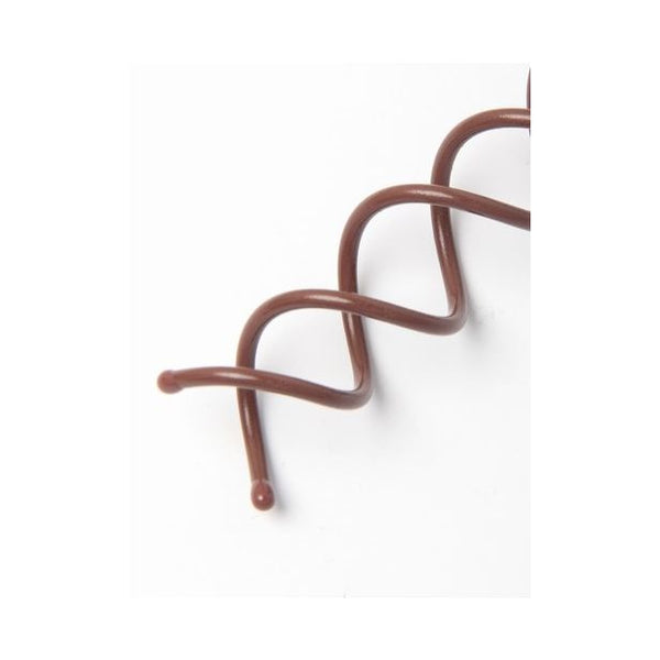 Pair of Brown twist in hair pins. 55mm