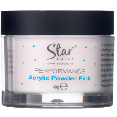 Star Nails Acrylic Powder Pink 40g