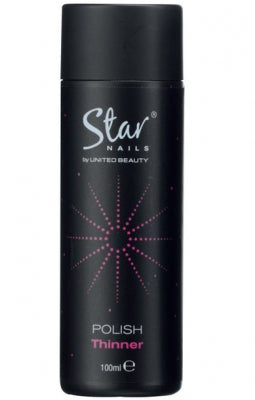 Polish Thinner 100ml by Star Nails - United Beauty - Shopdance.co.uk