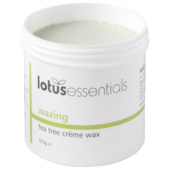 Tea Tree Creme Wax - Lotus - 425g - Shopdance.co.uk