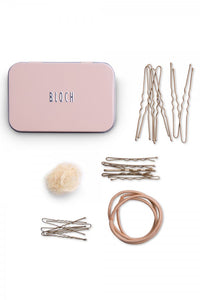 Dancers Hair Kit In A Tin Brown, Black or Blonde by Bloch Code: A0801 - Shopdance.co.uk