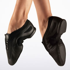 Bloch Black Jazz Shoe Slipstream Code: ES0385 - Shopdance.co.uk