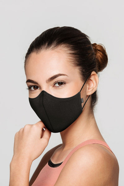 BLOCH Black B-Safe Adult Face Mask A001A