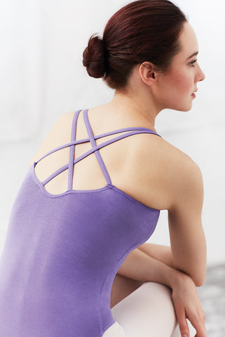 Camisole Dance Leotard (Double Strap) in LILAC-AMETHYST by Capezio Code: CC123 - Shopdance.co.uk
