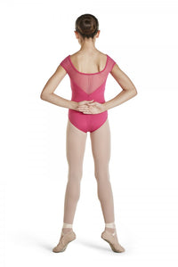 Girls Hot Pink Leotard with Diamante Back Detail by Bloch Code: CL4812 - Shopdance.co.uk