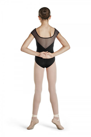 Girls Black Leotard with Diamante Back by Bloch Code: CL4812 - Shopdance.co.uk