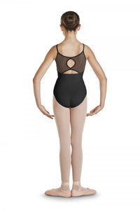 GIRLS KEYHOLE DIAMANTE BACK CAMI LEOTARD by BLOCH Code: CL4837 - Shopdance.co.uk