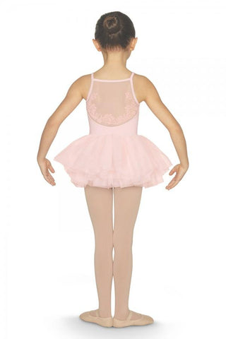 Girls Tutu Camisole Leotard Pastel Pink by Bloch Code: CL5557 - Shopdance.co.uk
