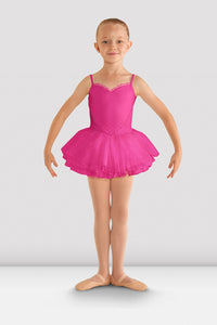 Girls Hot Pink Pretty Tutu Dress by Bloch Code: CL8168 CLEARANCE - Shopdance.co.uk