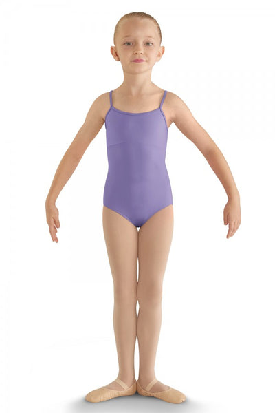 Girls Lilac Trendy Bow Back Camisole Leotard by Bloch Code: CL8810 - Shopdance.co.uk
