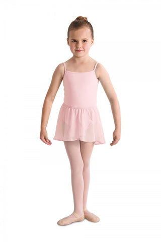 Bloch Girls Pink Mock Wrap Ballet Skirt Code: CR5110 - Shopdance.co.uk