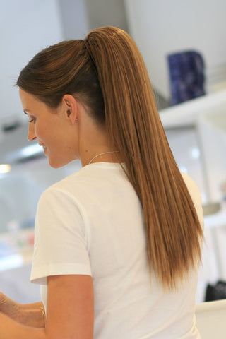 Long Straight Ponytail Hair Extension by Stranded - Shopdance.co.uk