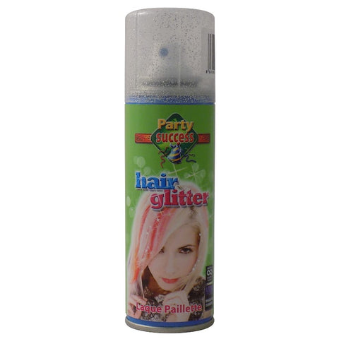 Hair Glitter Spray 125ml SILVER - Party Success - Shopdance.co.uk