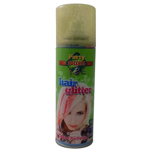 Hair Glitter Spray 125ml GOLD - Party Success - Shopdance.co.uk