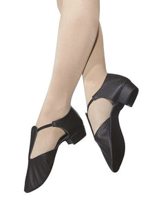 Greek Sandals with leather upper, suede soles. Girls-Women's Ballroom Dancing Shoes by Roch Valley Code GS - Shopdance.co.uk