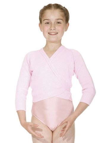 Girls-Women's Black Ballet Dance Wrap Cardigan Acrylic by Roch Valley Code:OL1 - Shopdance.co.uk
