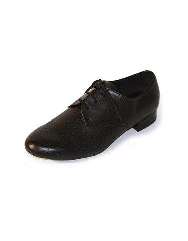 "Boys/Mens Leather Ballroom - Practice Shoes 1"" Heel by Roch Valley Code RUPERT - Shopdance.co.uk"