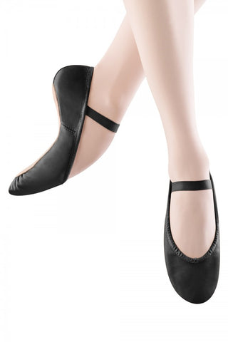 Boys-Girls Black Leather Ballet Shoes - Full Sole by Bloch Code S0209 - Shopdance.co.uk