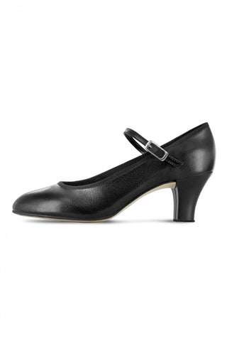 "BLOCH CHARACTER SHOE 2.5"" - BLACK- Kickline by Bloch Code: SO324 - Shopdance.co.uk"