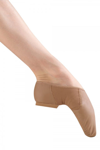 Girls Slip On Neo-Flex JAZZ Shoe TAN by Bloch Code: S0495 - Shopdance.co.uk