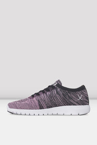 Bloch Sneaker - Trainer Pink and Grey Lightweight Omnia Code: SO926L - Shopdance.co.uk