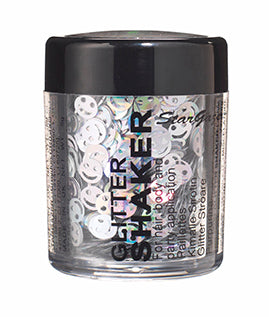 Glitter Shaker HOLOGRAM SMILEY - Stargazer - Shopdance.co.uk