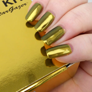 Nail Chroming Kit - Gold - Stargazer - Shopdance.co.uk