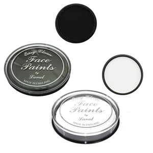 Laval Easy Clean Face Paint (Black/White/Red) - Shopdance.co.uk