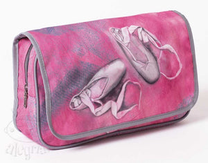 Dance Bag/Cosmetic Bag Pointe Shoe / Pink - Luxury - Dance Distribution - Shopdance.co.uk
