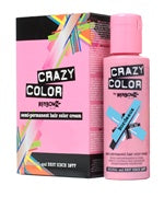 Crazy Colour Semi Permanent Hair Dye 100ml BUBBLEGUM BLUE - Shopdance.co.uk