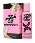 Crazy Colour Semi Permanent Hair Dye 100ml BURGUNDY - Shopdance.co.uk