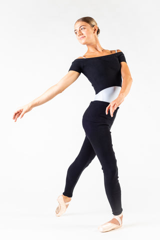 Girls - Women's Cropped Knit Warm Up Dance Jumper by Capezio Code:11383W - Shopdance.co.uk