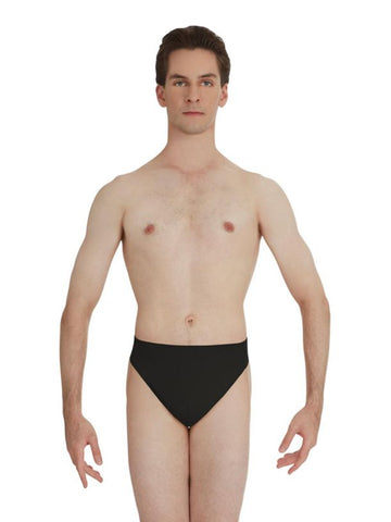 Mens Lined Thong Comfort Dance Belt Black or Nude by Capezio Code: N26 - Shopdance.co.uk